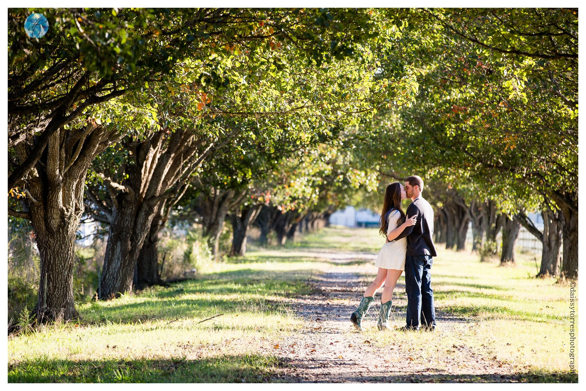 Back Bay Engagement - Kiss love