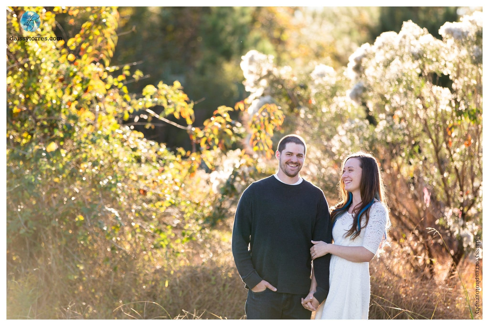 Back Bay Engagement - laughter