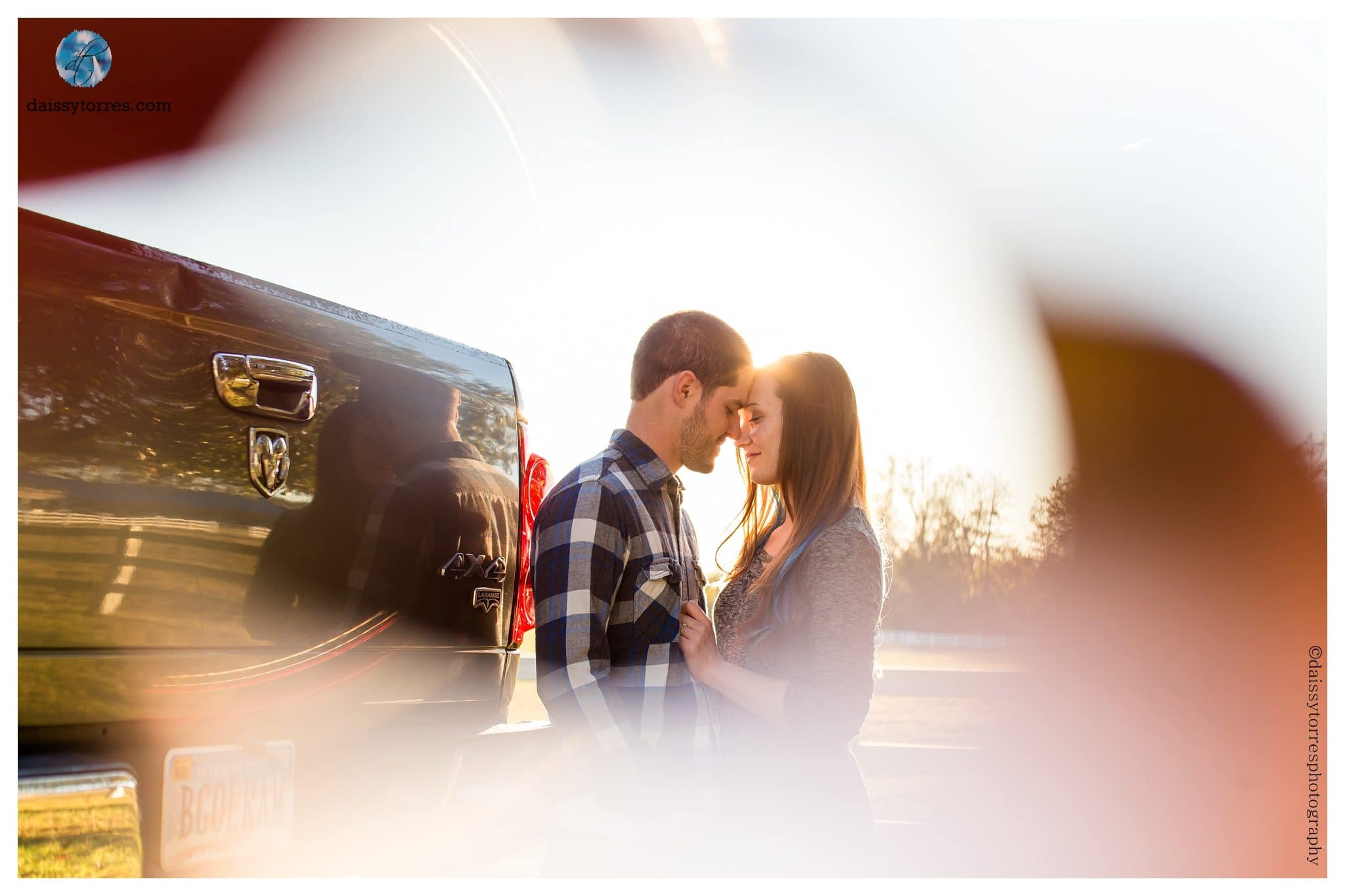 Back Bay Engagement Session - through things