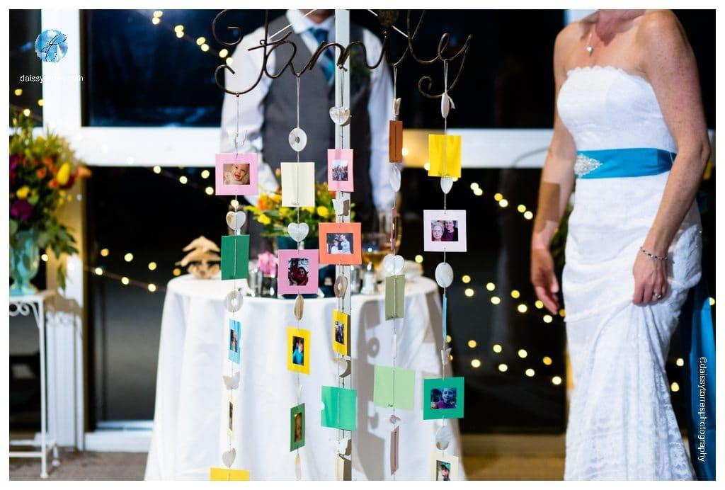 Virginia Aquarium Wedding - Parents giving a special gift