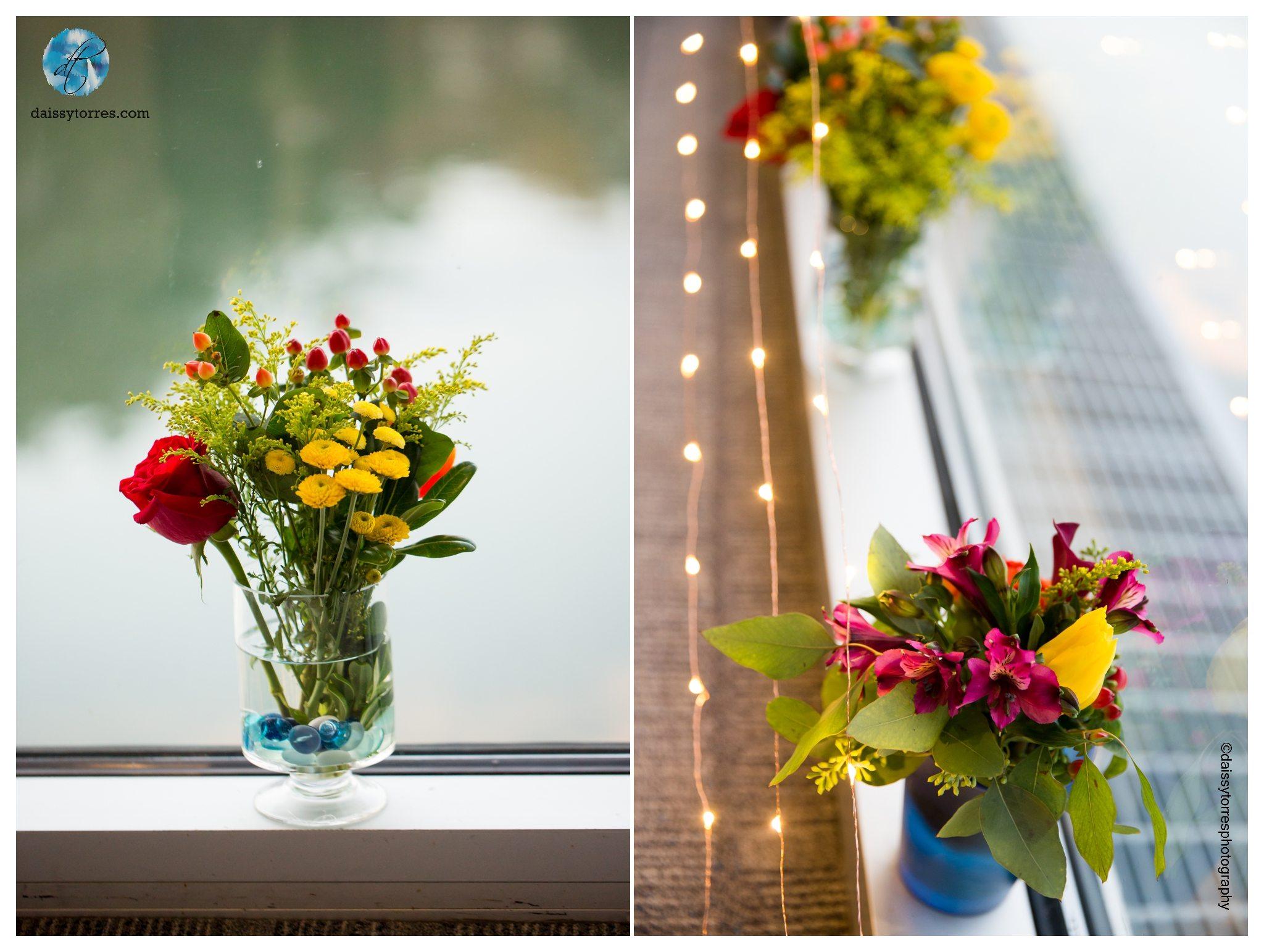 Virginia Aquarium Wedding - Do it yourself wedding decor