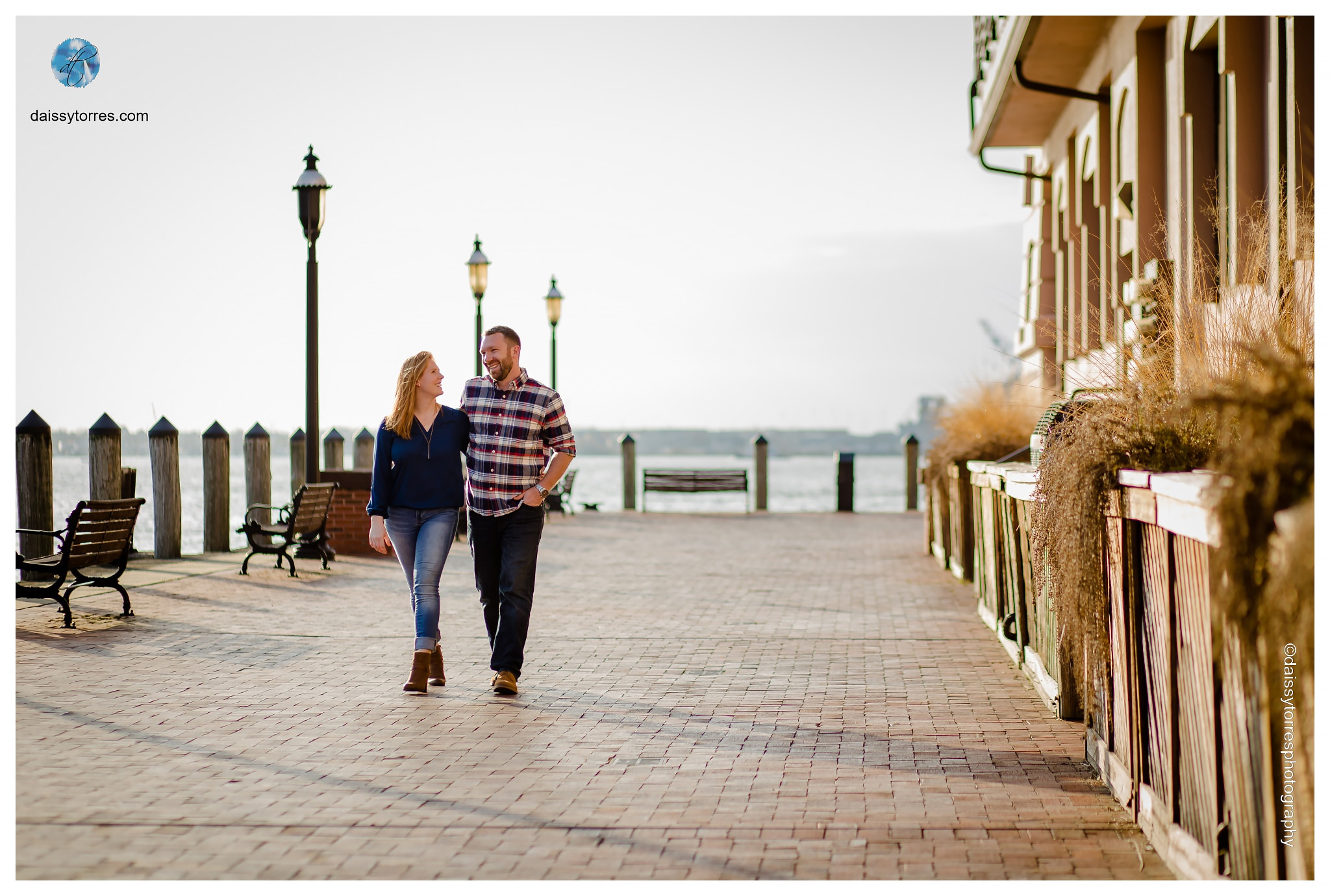 Downtown Norfolk Freemason Engagement Session by Daissy Torres Photography