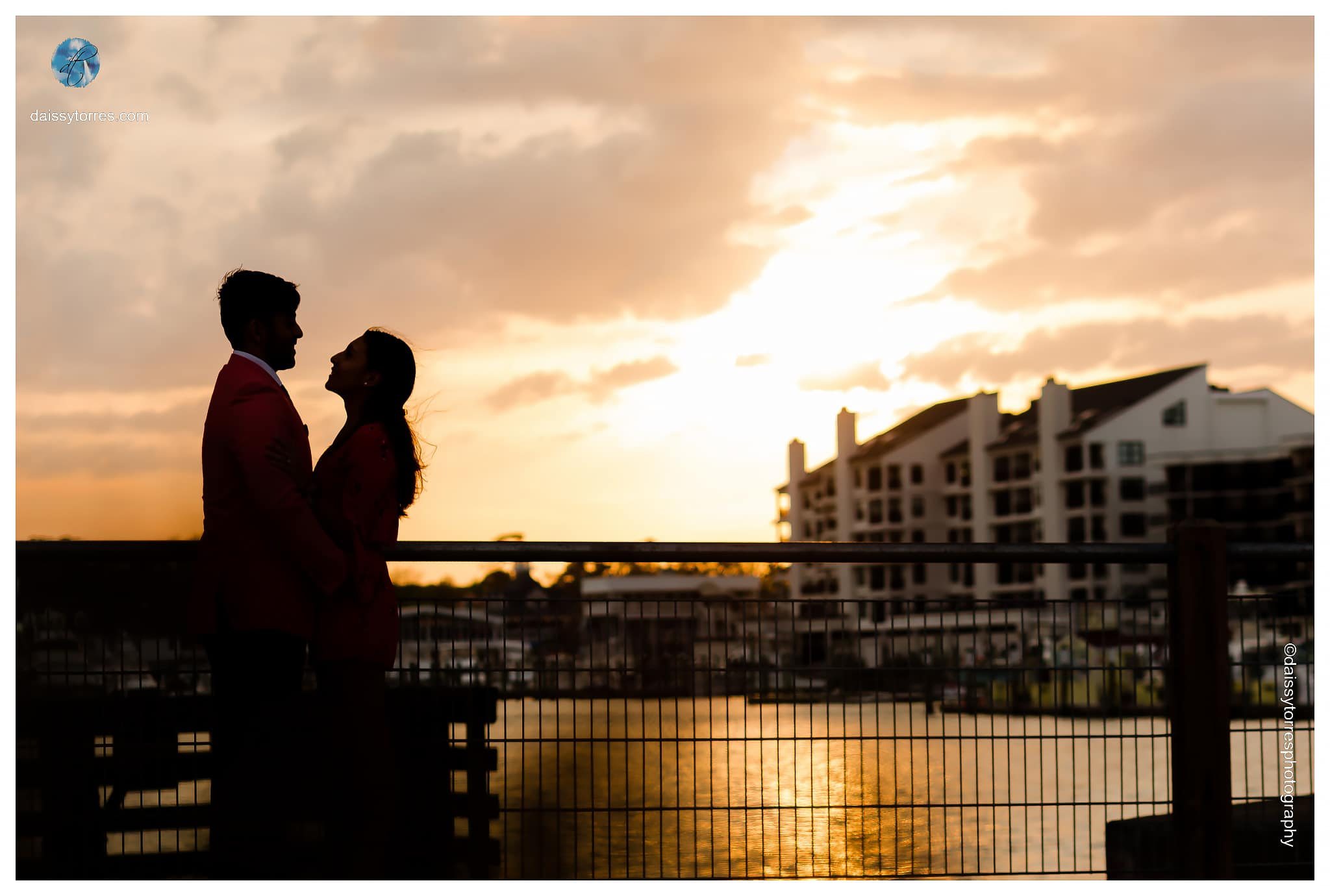 Rudee Inlet Engagement Session by Daissy Torres Photography