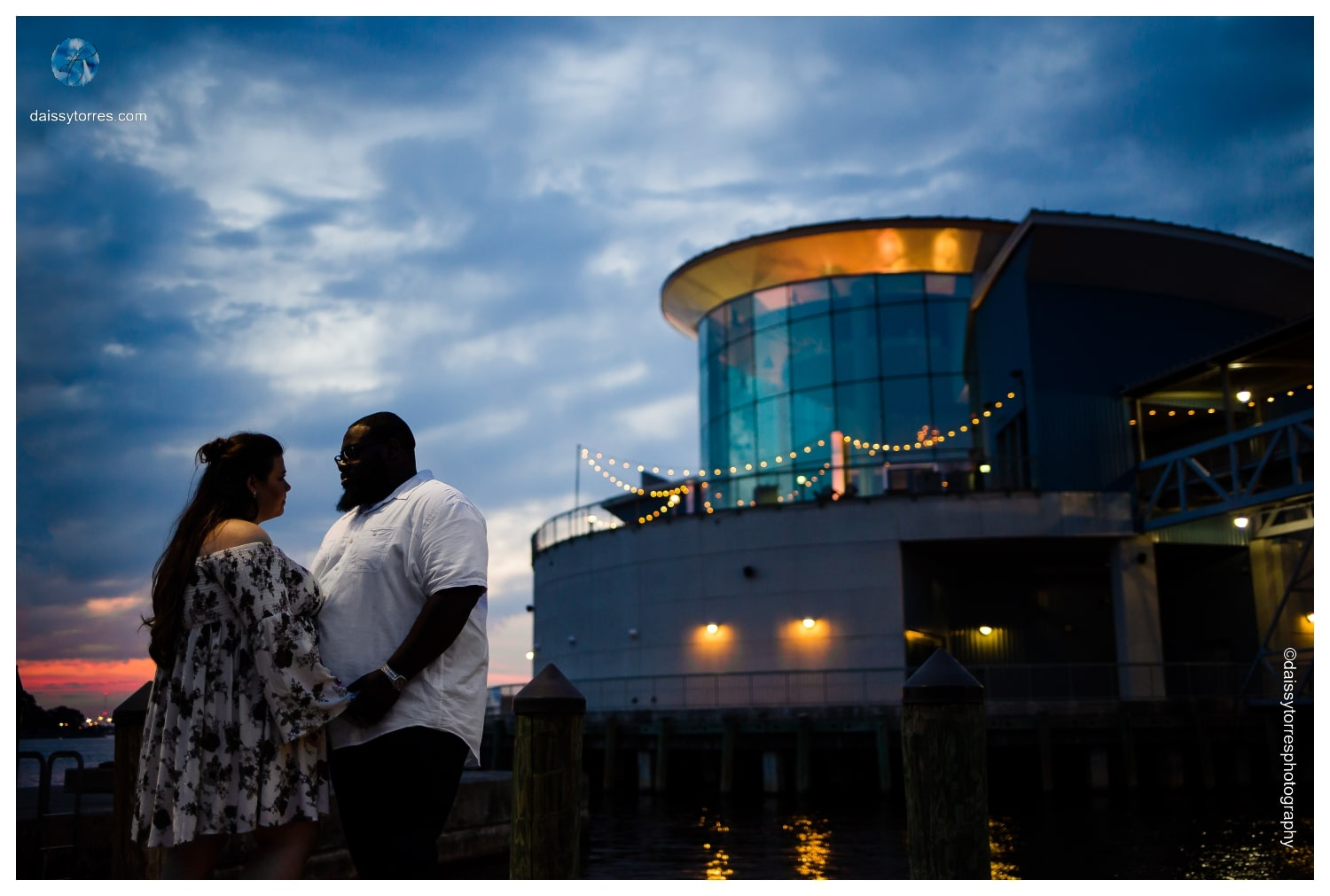 Norfolk Waterside Engagement Session