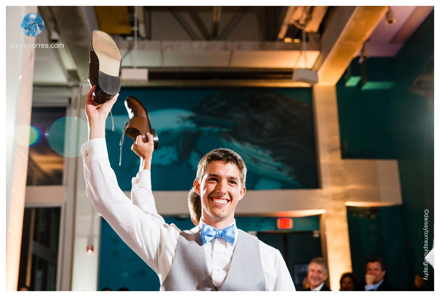 Summer Virginia Aquarium Wedding